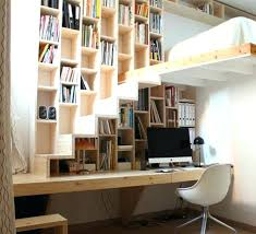bibliothèque bureau intégré bureau bibliothaque design bureau bibliotheque design 10