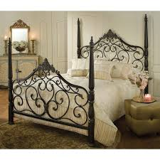 Fleur De Lis Headboard Give Your Bedroom An Elegant Makeover With This Parkwood Bed U0027s