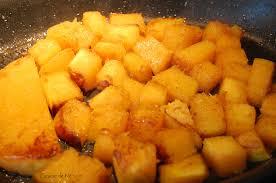 cuisiner la butternut poêlée de butternut graine de blé noir