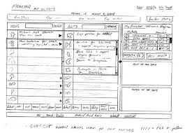 25 examples of wireframes and mockups sketches inspirationfeed