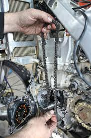 how to change a timing chain transmoto