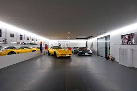 luxurious garage design ideas with fancy cars modern garage
