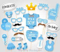 it s a boy baby shower baby shower photo booth props printable photo booth props