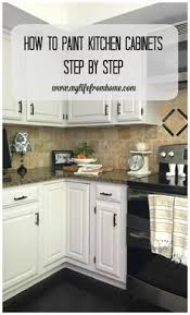 White Cabinets Kitchens How To Paint Kitchen Cabinets The Right Way From Confessions Of A