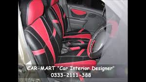Car Modifications Interior Suzuki Alto Custom Interior In Red U0026 Black By Car Mart Youtube