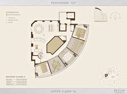 floor plan u2013 penthouse 127 bezier ec2 u2013 london england uk the