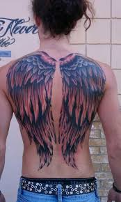 photos of wing tattoos
