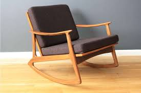 Midcentury Modern Rocking Chair - mid century modern furniture for small spaces all modern home
