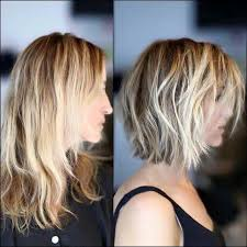 before and after short hair styles of chubby faces choppy lob before and after hair photos hair pinterest lob