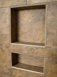big tiles shower niche if builds another shower we ll do