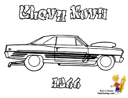 brawny muscle car coloring pages american muscle cars free