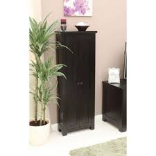 furniture interactive brown solid wood dvd storage and shelf for