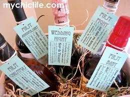 bridal shower wine basket diy bridal shower gift celebrating all the couples