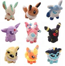 pokemon eevee u0026 eeveelutions plushies pokémon gifts pinterest