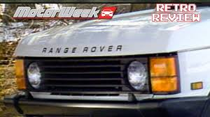 retro range rover 1987 range rover retro review youtube