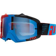 rockstar motocross goggles fox racing 2016 air defence mx goggles libra blue red blue spark