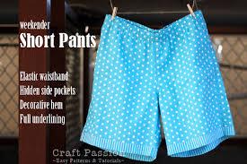 paper bag toddler shorts pattern short pants free sewing pattern tutorial craft passion