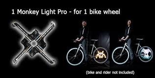 Monkey Bike Lights Monkey Light Pro Bicycle Wheel Display System By Monkeylectric