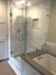 Glass Shower Doors Cost Installing Glass Shower Door Cost To Install Sliding Frameless