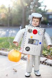 Kids Robot Halloween Costume Blast Astronauts Birthday Party Ideas Halloween Costumes