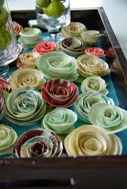 our house now a home projects how to make simple paper flowers