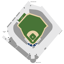 Mlb Map Safeco Field Map Seattle Mariners