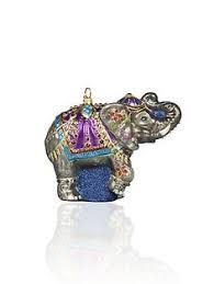 nwt nib strongwater jubilee elephant with swarovski crystals