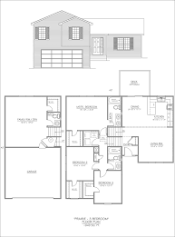 Split Ranch House Plans Split Entry House Plans For Narrow Lots