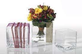 Clear Vases Bulk Vases Amusing 5x5 Glass Va Tabunightclub Com