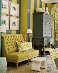 loving this yellow gold grey color scheme grey highboy paint
