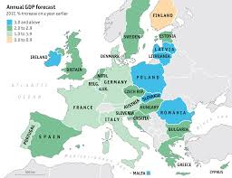 gdp growth forecast for europe 2017 maps pinterest