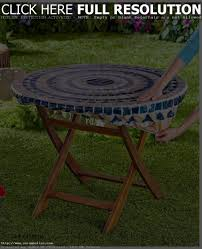 Patio Table With Umbrella Hole Patio Tablecloth With Umbrella Hole Patio Furniture Ideas And