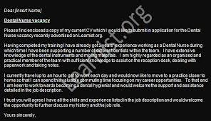 dental nurse job application cover letter example learnist org
