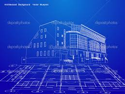 blueprint house modern architecture blueprints interior design