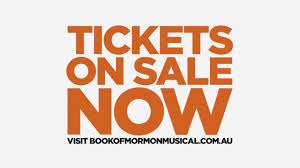 the book of mormon tickets on sale now melbourne 2017 youtube