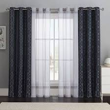 Boys Drapes Love The Sheer Curtain Underneath And Solid Curtain On Top Layer
