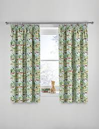Jungle Nursery Curtains by Childrens Nursery Curtains Uk Curtain Menzilperde Net