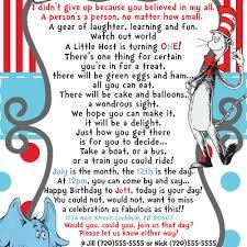 preemie dr seuss birthday invitation you print 5280 paper