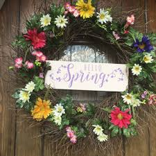 Spring Wreath Ideas Creative Projects