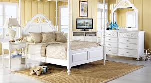 cindy crawford bedroom set cindy crawford home seaside white 6 pc queen poster bedroom