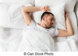 Man Sleeping In Bed Picture Of Family Sleeping In Bed At Home People Family And