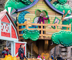 sprout float at macy s thanksgiving day parade photograph by david