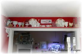 how to display vintage collectibles in a country kitchen