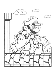 super likelikes video game art retro mario u0026 bowser coloring book