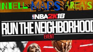 Nba Map Nba 2k18 Intell Different Styles Of Neighborhoods New Map