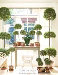 Topiaries Wedding - tone on tone all about myrtle topiaries
