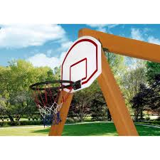 basketball hoop for swing set by gorilla playsets 870780002583