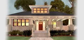 craftsman bungalow style homes interior fence basement