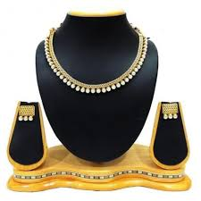fashion pearl necklace set images Antique pearl necklace set for women fancy jewellery jpg