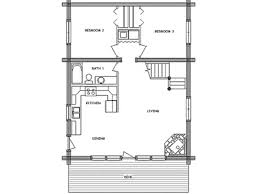 4 small cabin plan with loft camp house floor plans plush design